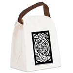 Celtic Knotwork Spin Canvas Lunch Bag