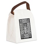 Celtic Knot Bare Branches Canvas Lunch Bag