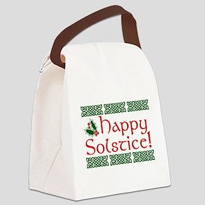 Happy Solstice Canvas Lunch Bag