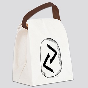 Viking Rune Jera Canvas Lunch Bag
