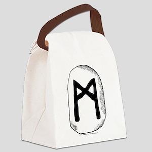 Rune Mannaz Canvas Lunch Bag