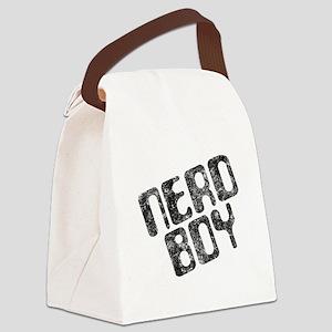 Nerd Boy Canvas Lunch Bag