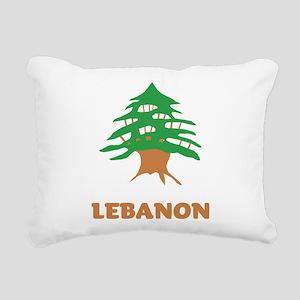 Lebanon Rectangular Canvas Pillow