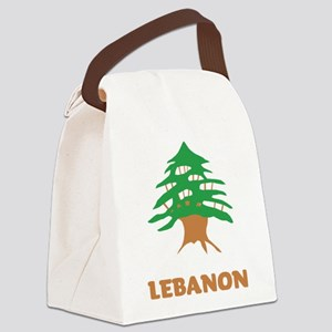 Lebanon Canvas Lunch Bag