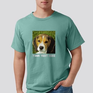 Dog Photo Personalized Mens Comfort Colors Shirt