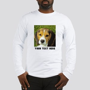 Dog Photo Personalized Long Sleeve T-Shirt