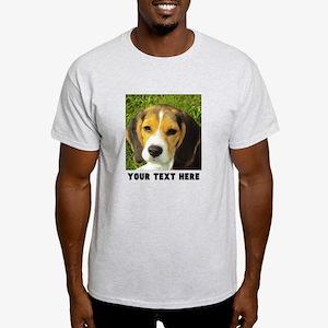 Dog Photo Personalized Light T-Shirt