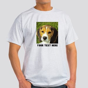 Dog Photo Personalized Light T-Shirt