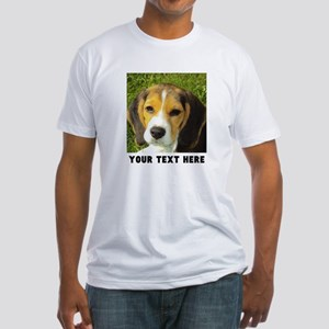 Dog Photo Personalized Fitted T-Shirt