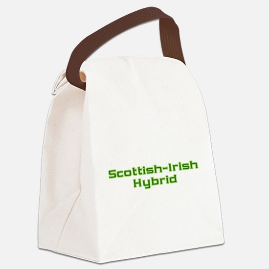 Scottish Irish Hybrid Canvas Lunch Bag