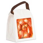Shell Shock Watercolor Canvas Lunch Bag