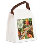 Celtic Harvest Moon Watercolor Canvas Lunch Bag