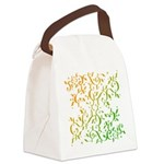 Abstract Arabic Design Canvas Lunch Bag