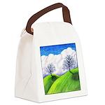 California Spring Canvas Lunch Bag