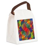 Worlds Within Worlds Abstract Canvas Lunch Bag