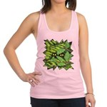 Through the Leaves Watercolor Racerback Tank Top