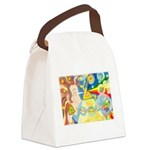 Creation Myth Watercolor Canvas Lunch Bag
