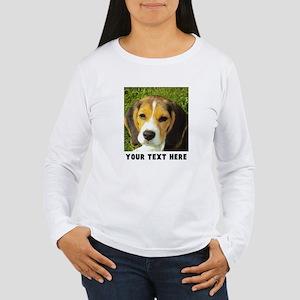 Dog Photo Personalized Women's Long Sleeve T-Shirt