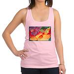 Fruit Montage Watercolor Racerback Tank Top