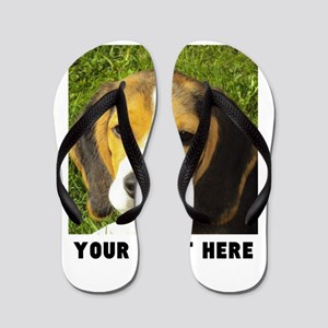 Dog Photo Personalized Flip Flops