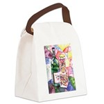 Wine and Candy Canvas Lunch Bag