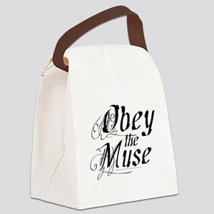 Obey the Muse Canvas Lunch Bag