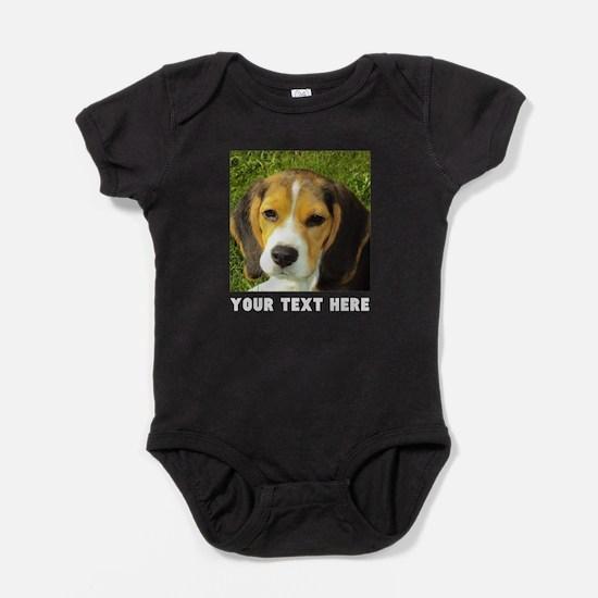 Dog Photo Personalized Baby Bodysuit