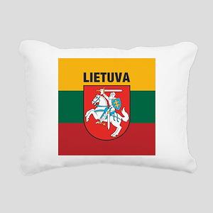 Lithuania Rectangular Canvas Pillow