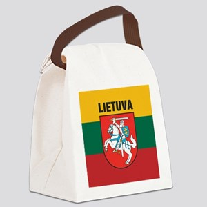 Lithuania Canvas Lunch Bag