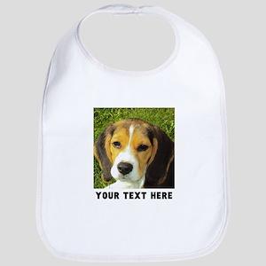 Dog Photo Personalized Cotton Baby Bib