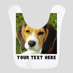 Dog Photo Personalized Polyester Baby Bib