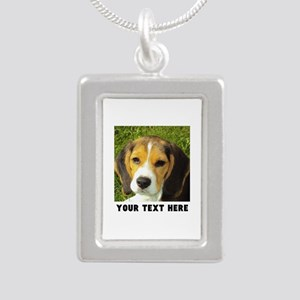 Dog Photo Personalized Silver Portrait Necklace