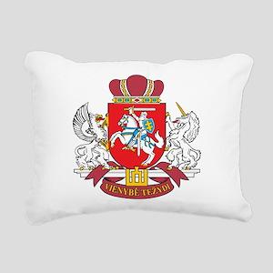 Lithuania Coat Of Arms Rectangular Canvas Pillow