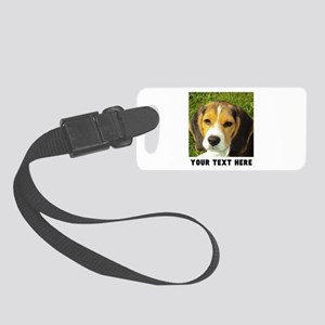 Dog Photo Personalized Small Luggage Tag