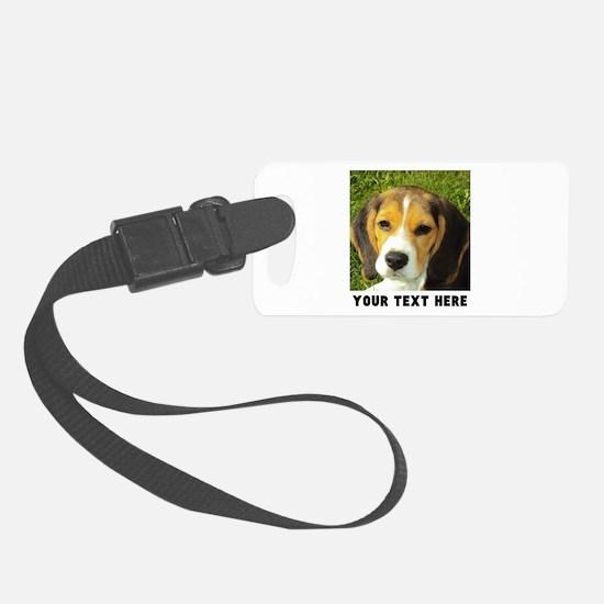 Dog Photo Personalized Luggage Tag