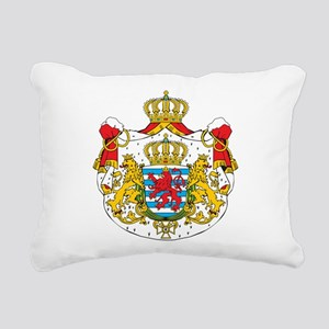 Luxembourg Coat Of Arms Rectangular Canvas Pillow