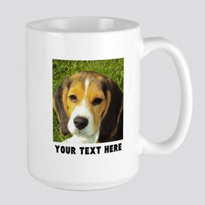 Dog Photo Personalized 15 oz Ceramic Large Mug