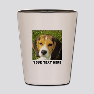 Dog Photo Personalized Shot Glass