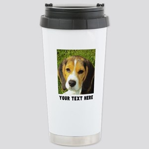 Dog Photo Persona 16 oz Stainless Steel Travel Mug