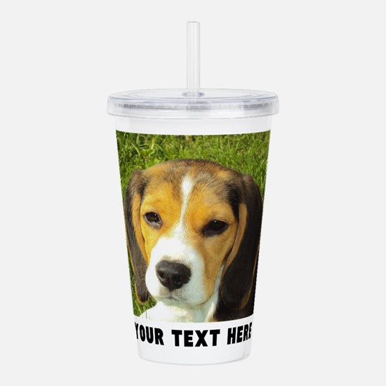 Dog Photo Personalized Acrylic Double-wall Tumbler