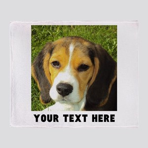 Dog Photo Personalized Throw Blanket