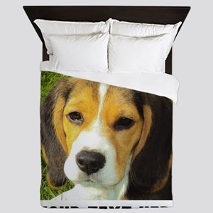 Dog Photo Personalized Queen Duvet