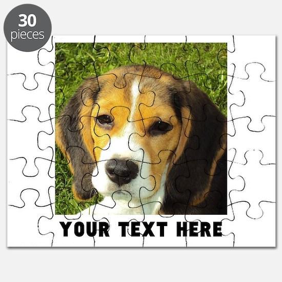 Dog Photo Personalized Puzzle