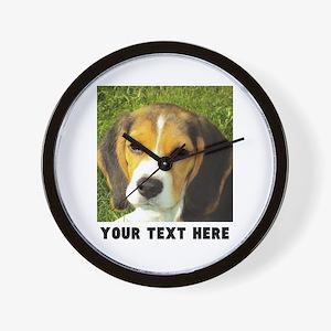 Dog Photo Personalized Wall Clock