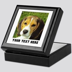 Dog Photo Personalized Keepsake Box