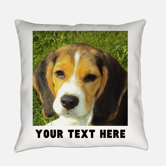 Dog Photo Personalized Everyday Pillow