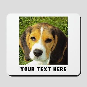 Dog Photo Personalized Mousepad