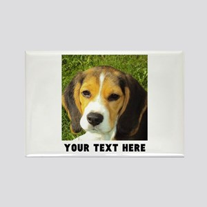 Dog Photo Personalized Rectangle Magnet