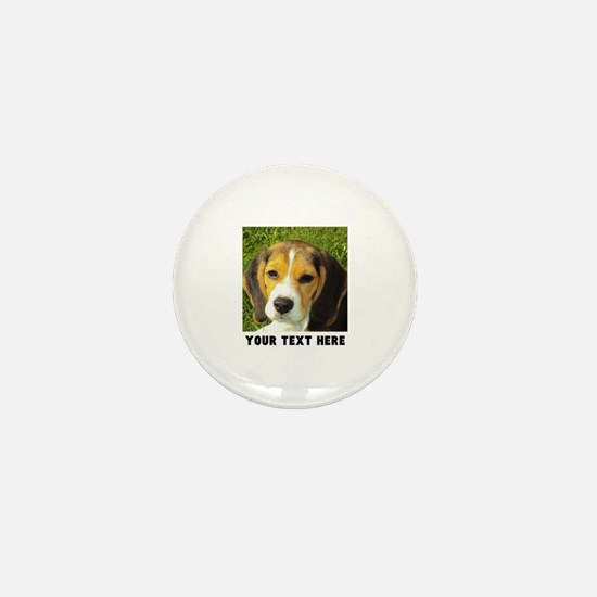 Dog Photo Personalized Mini Button (10 pack)