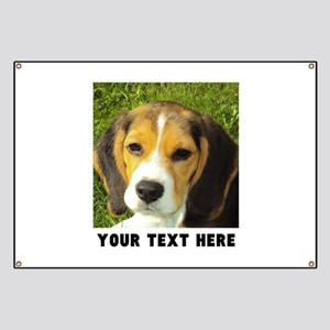 Dog Photo Personalized Banner